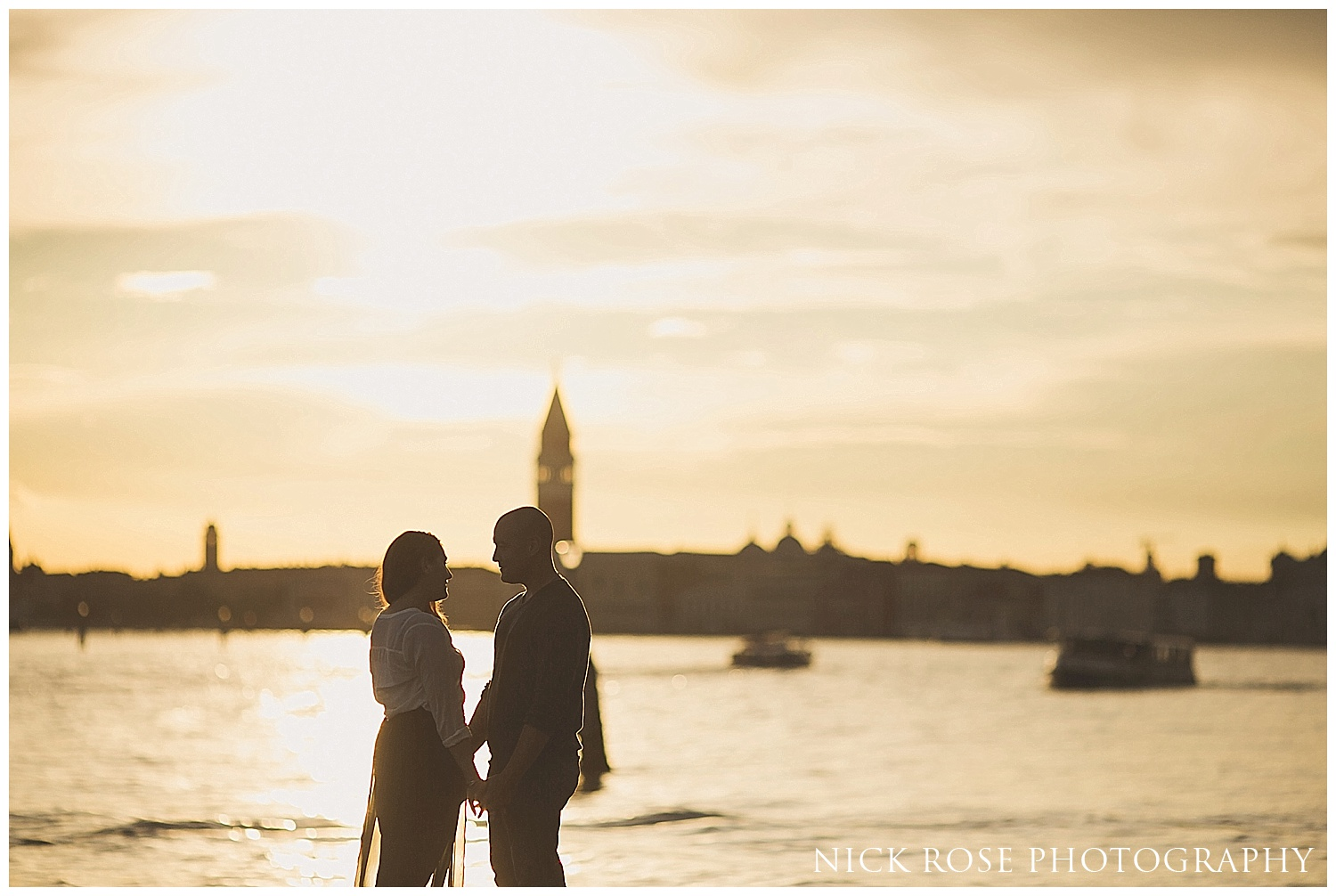 Engagement photo Venice Italy