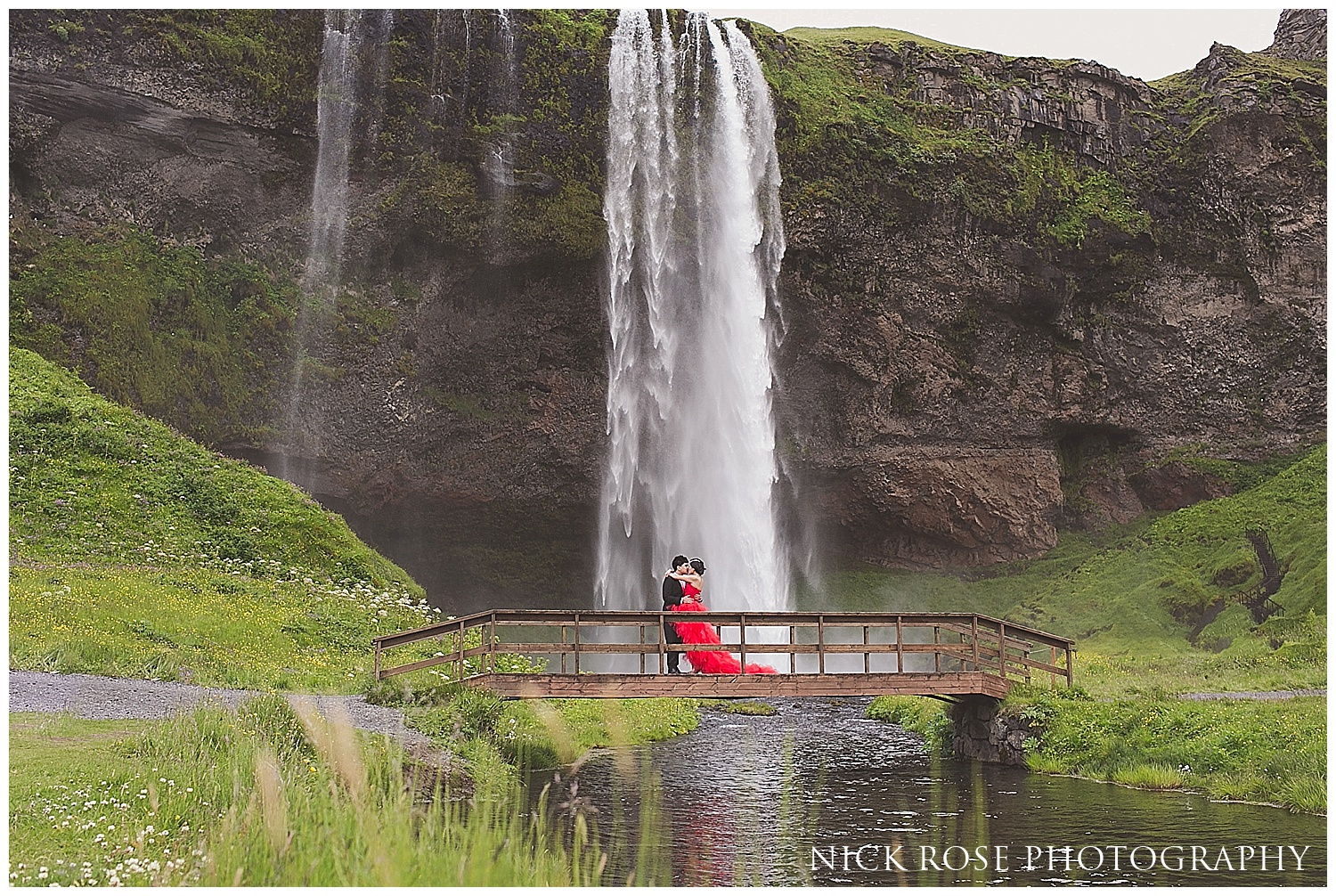 Seljalandsfoss pre wedding photography