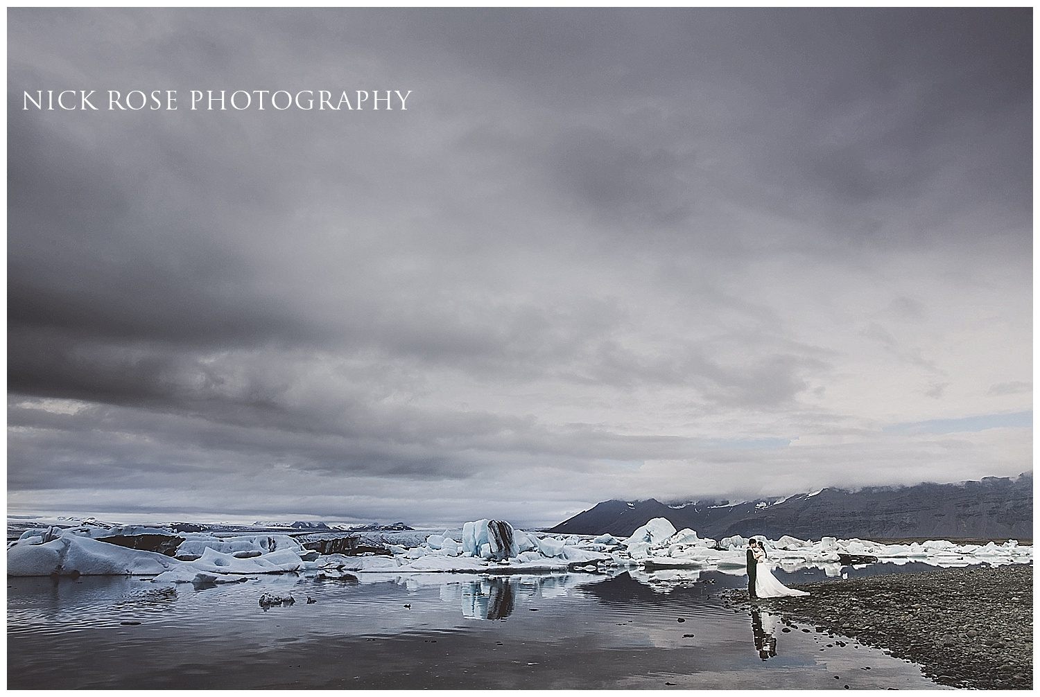 Destination pre wedding photographer Iceland