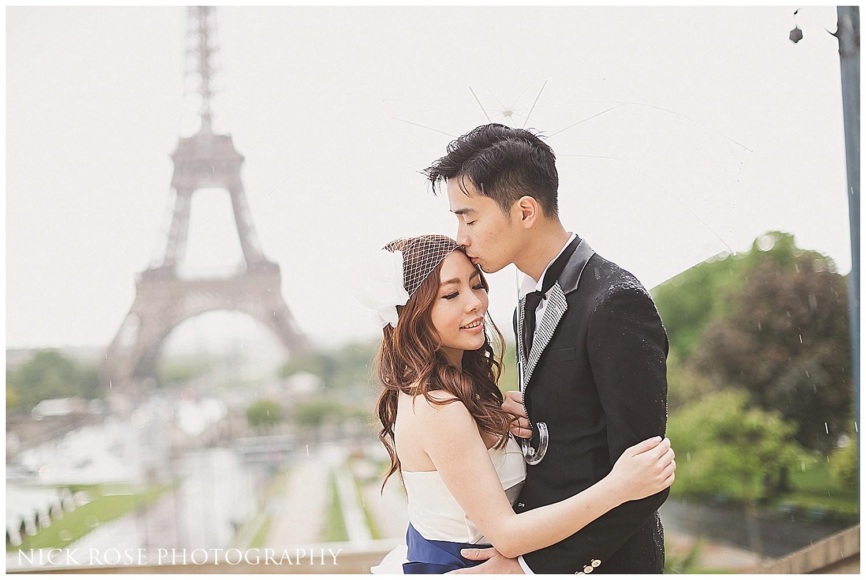 Eiffel Tower Pre Wedding Photography