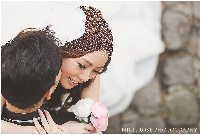 Asian pre wedding Paris
