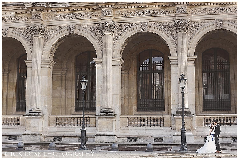 Louvre pre wedding Paris