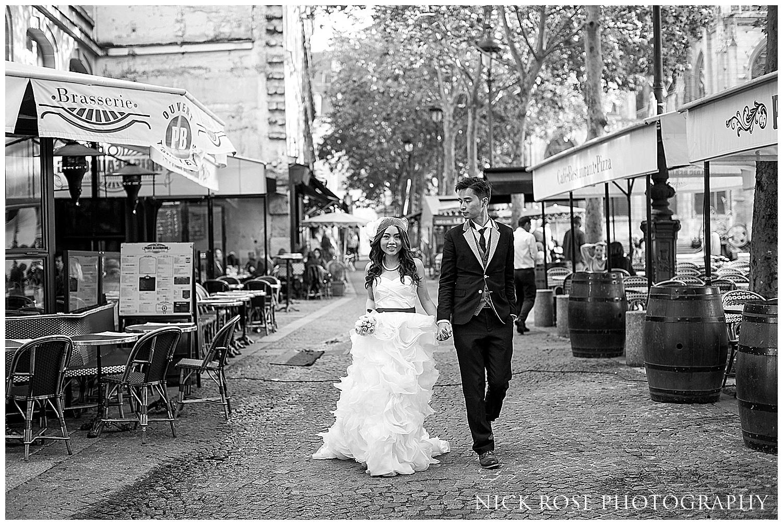 Asian pre wedding photographer Paris