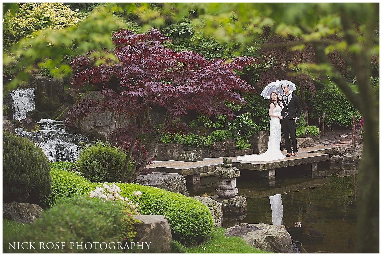 Holland Park pre wedding photography