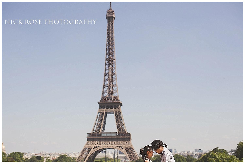Paris pre wedding photography