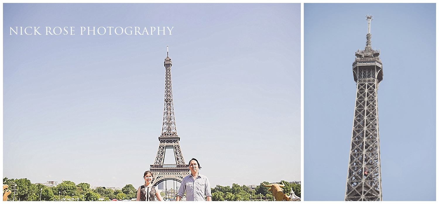 Engagement photographer Paris France