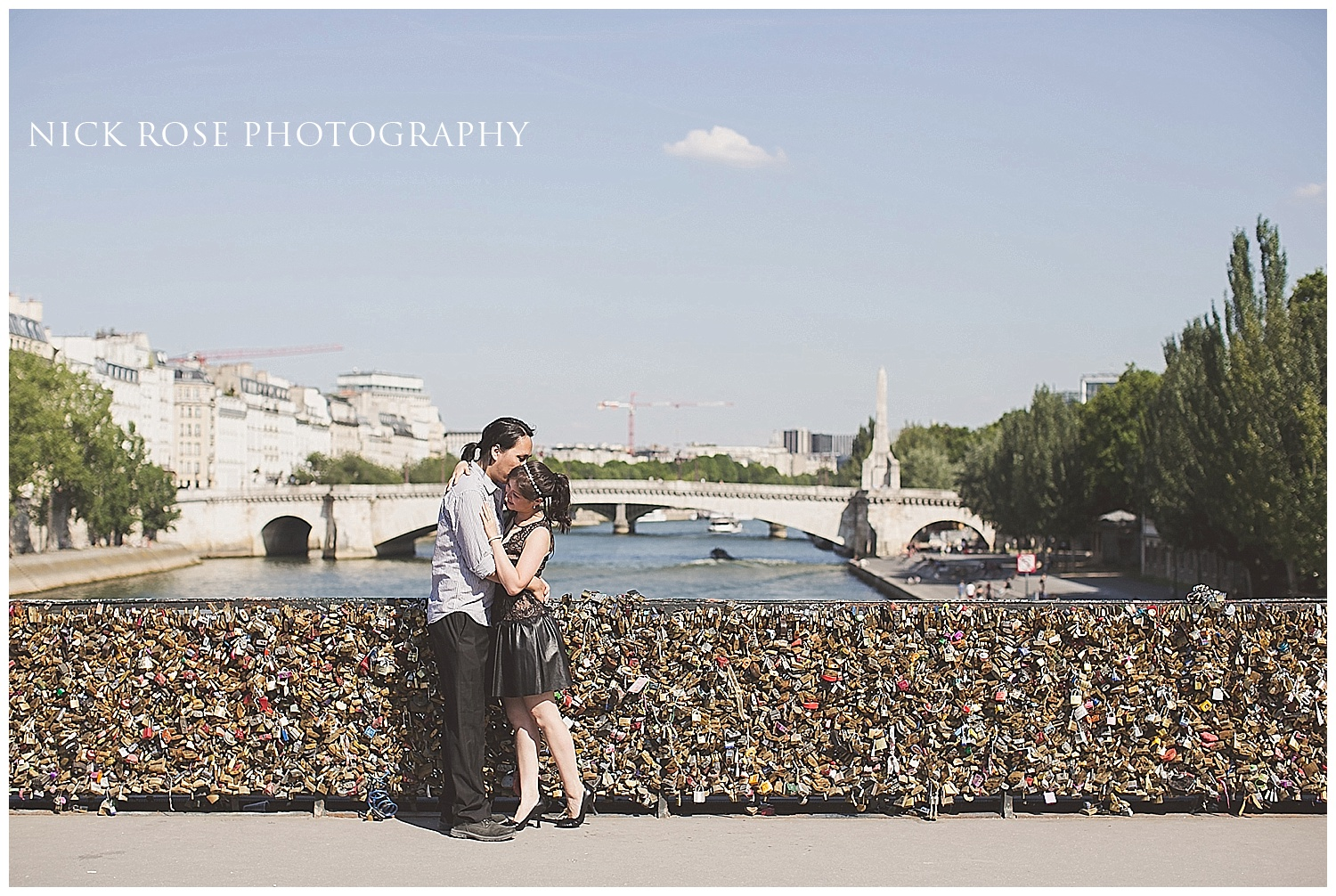 Destination pre wedding photography Paris