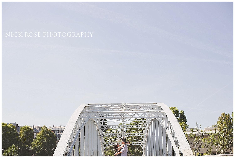 Destination pre wedding photographer Paris