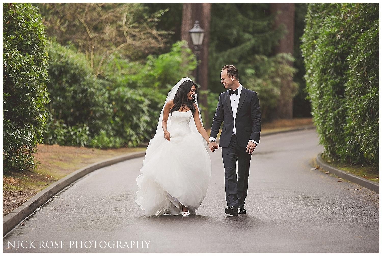 Pennyhill Park Surrey Wedding