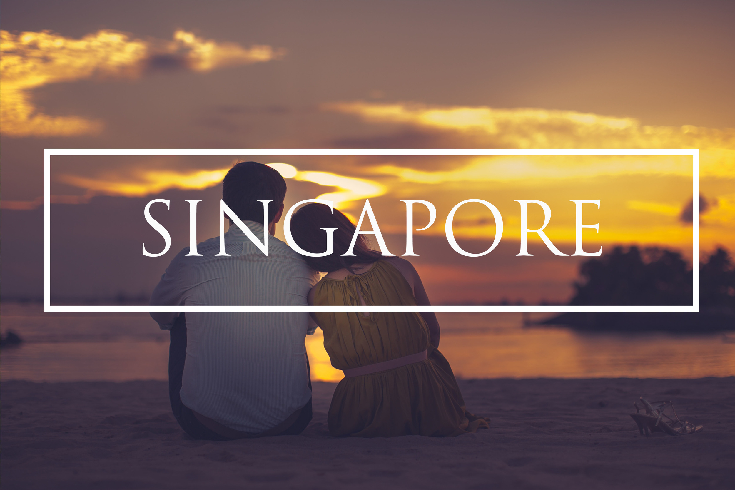 Singapore pre wedding photography Asia