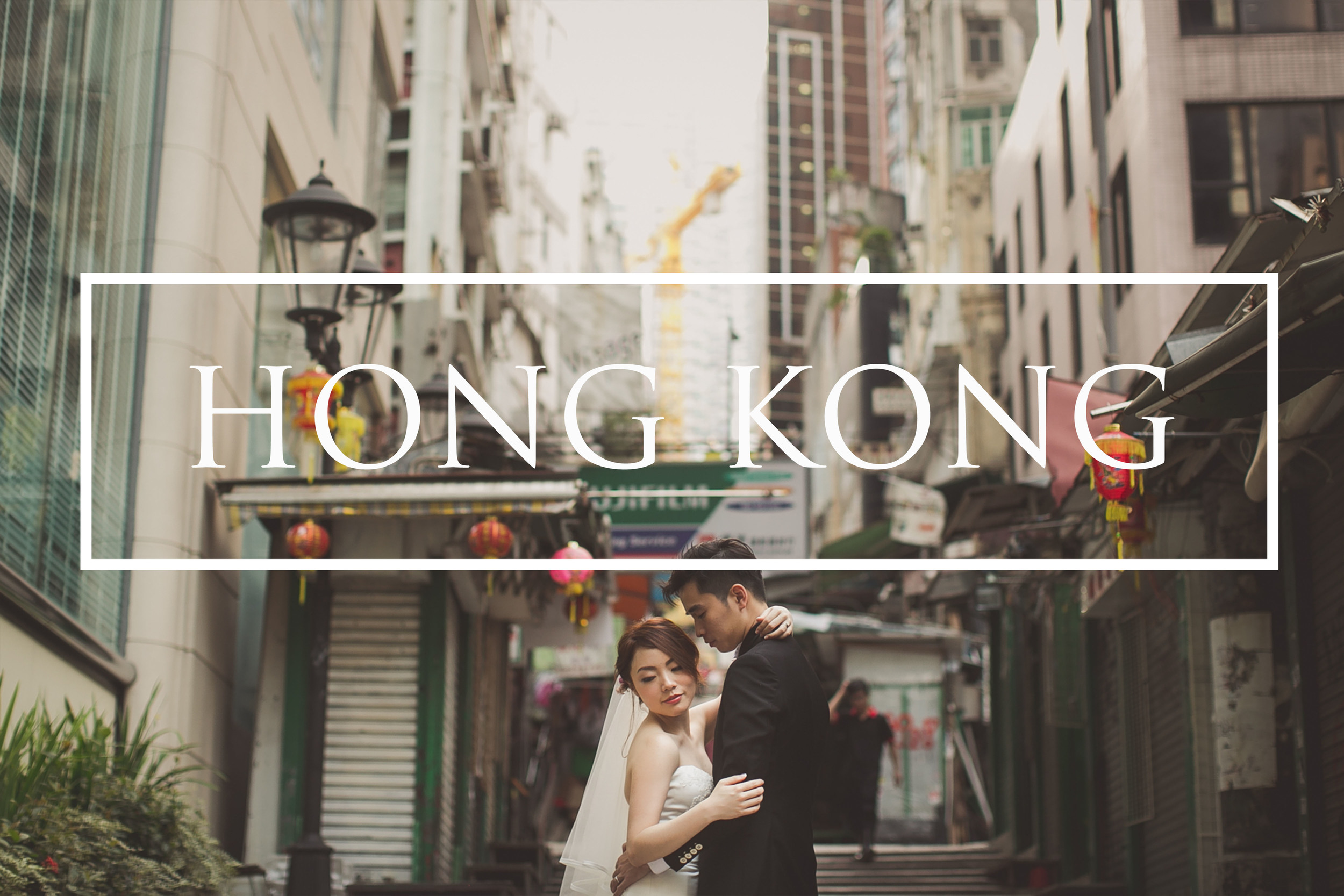 Hong Kong International wedding photography