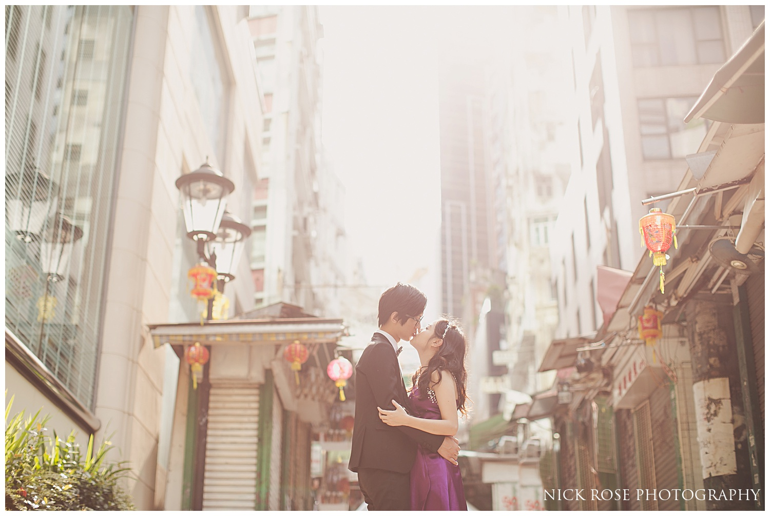 Destination pre wedding Hong Kong