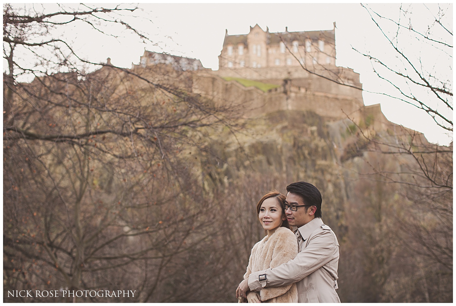 Destination pre wedding photography Scotland