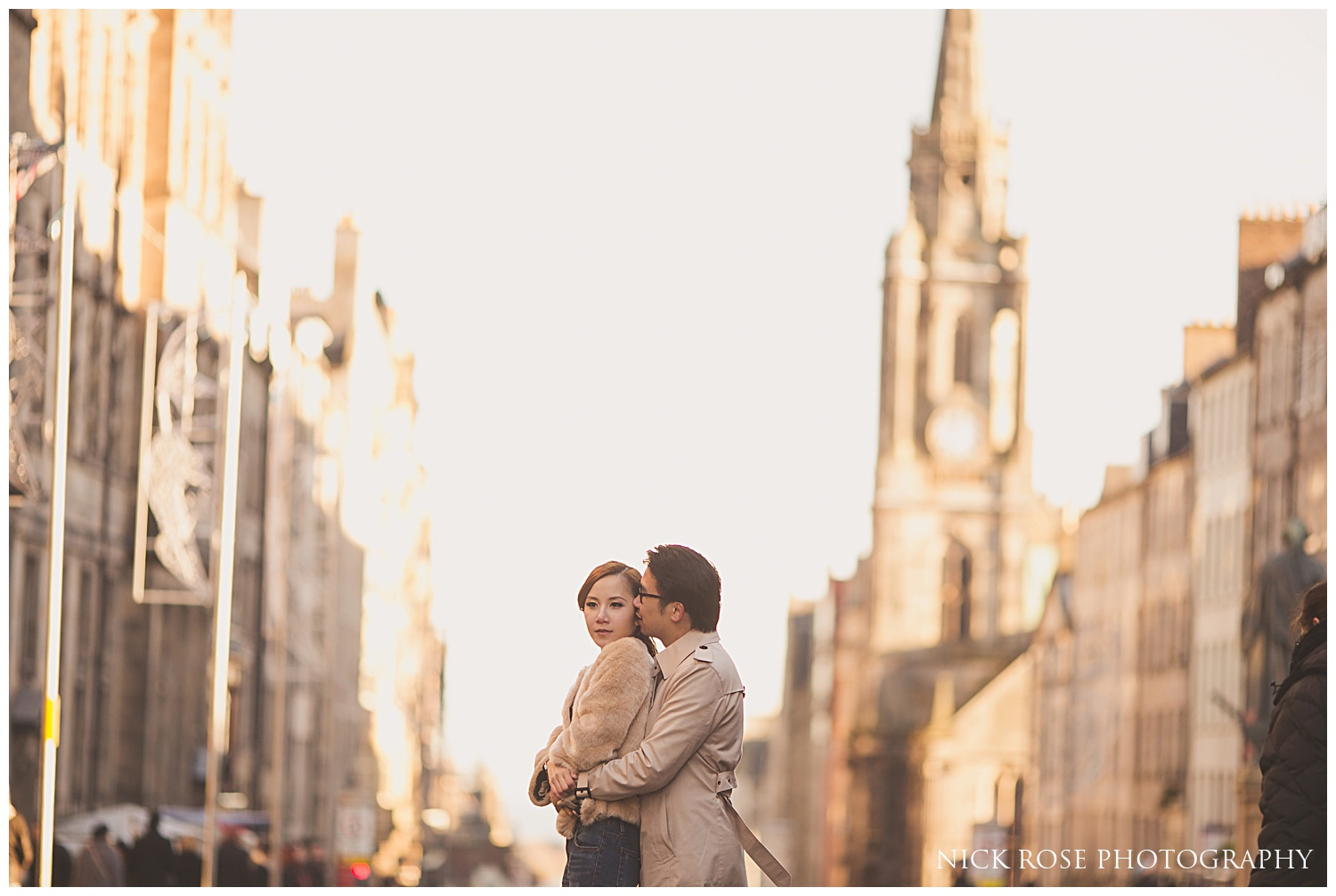 Pre wedding photography Edinburgh Scotland