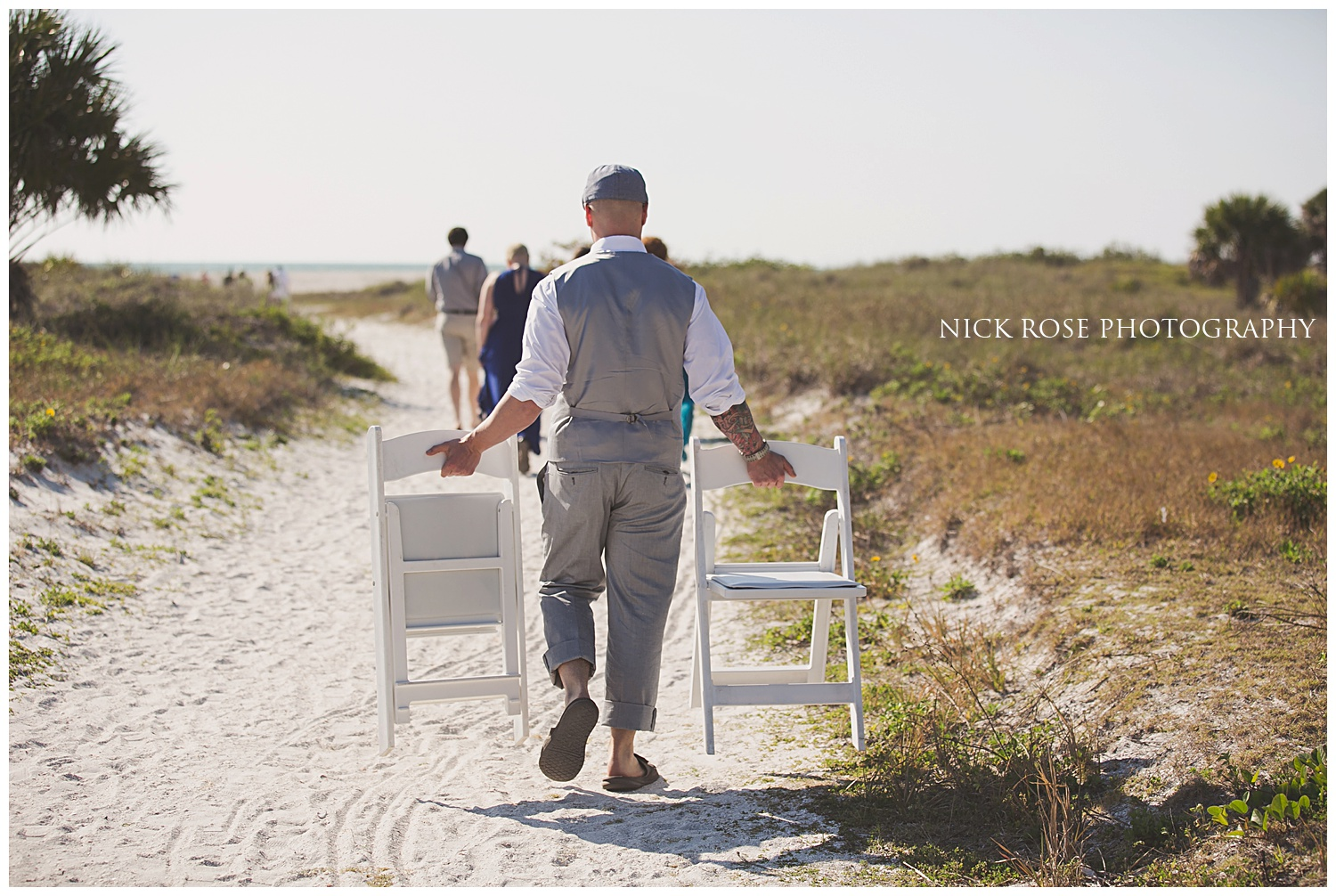 Beach wedding photography in Clearwater Florida