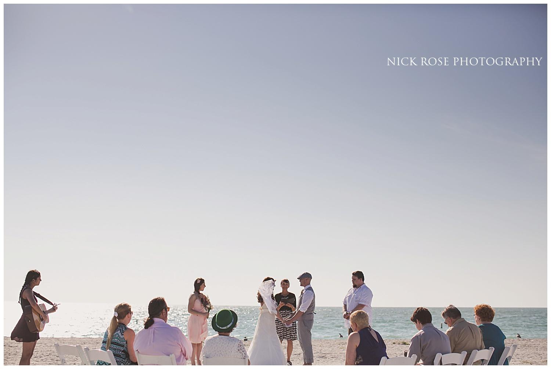Destination Beach wedding photography Florida