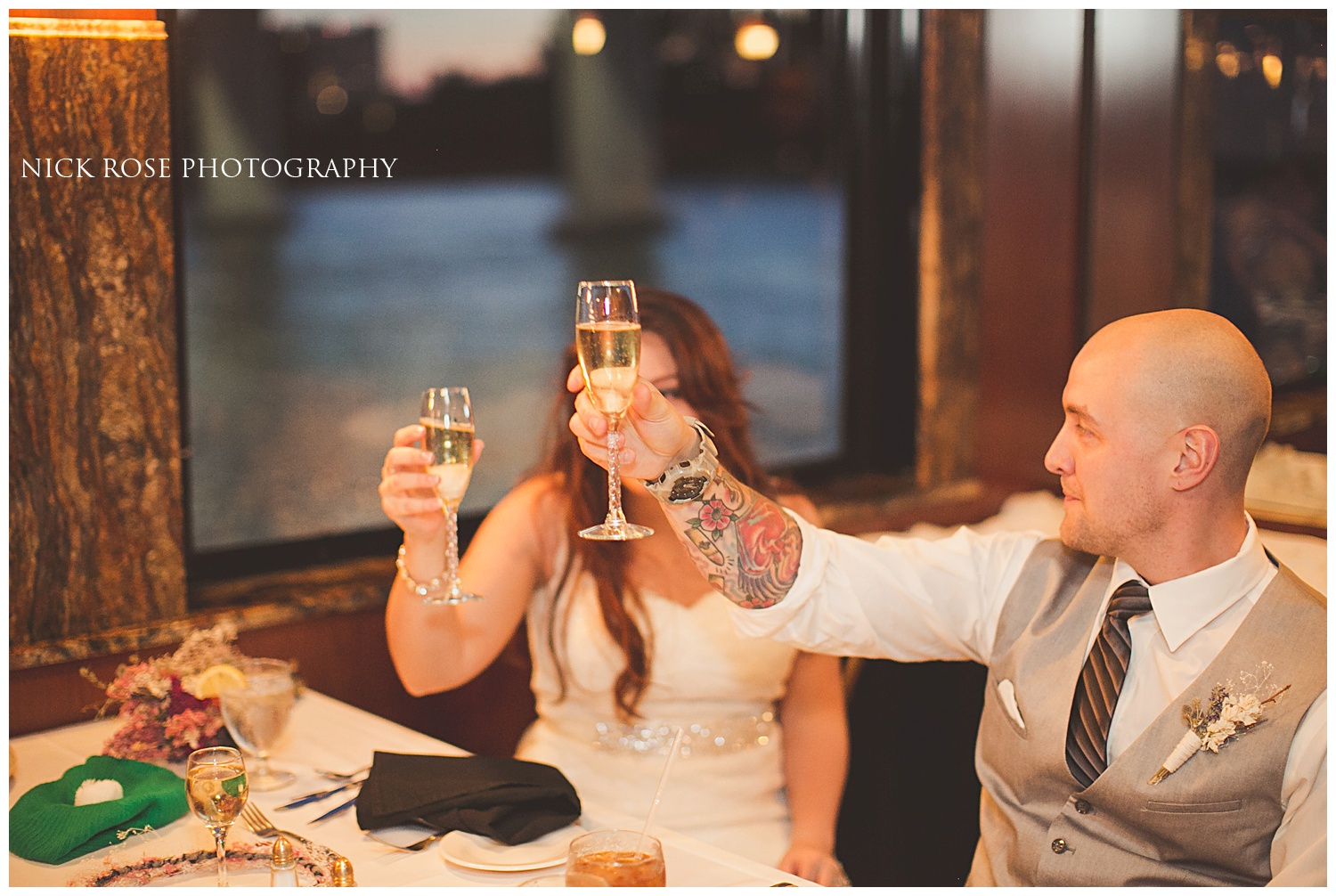Sunset Cruise Wedding Clearwater Florida