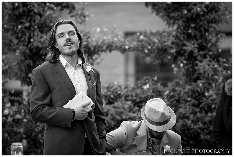 Wedding at the Ham Yard Hotel