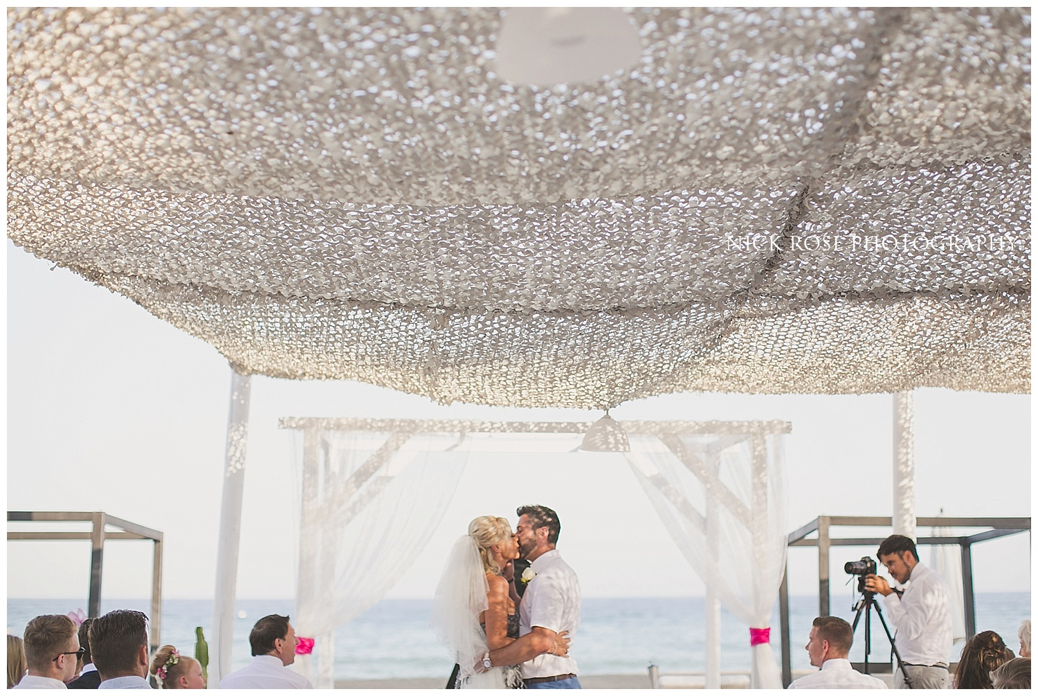 Beach Wedding Ceremony Marbella Spain