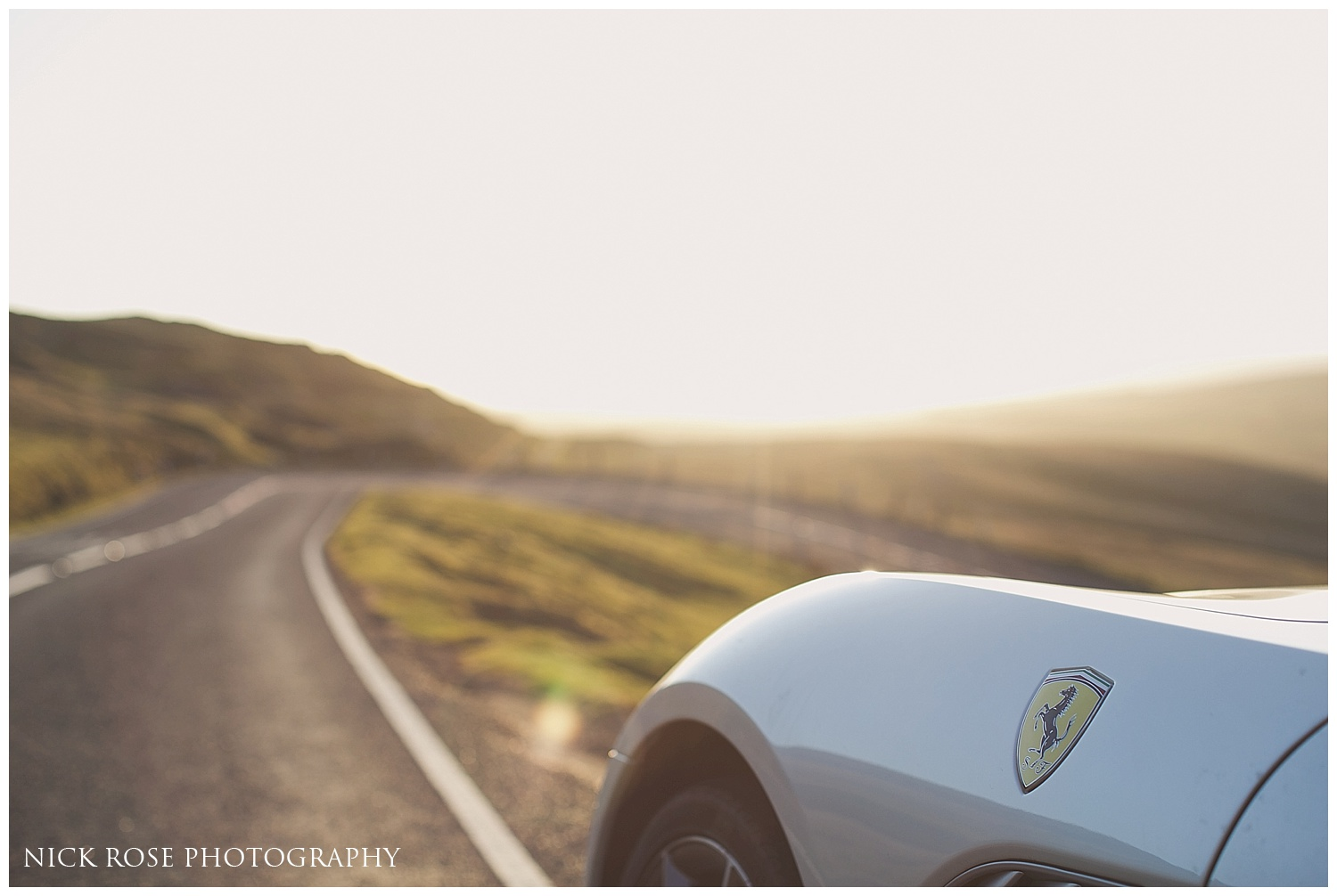 Ferrari pre wedding shoot