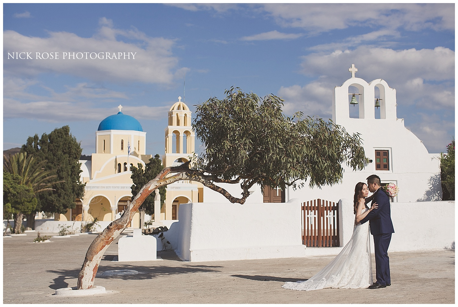Destination Wedding Photography Santorini Greece