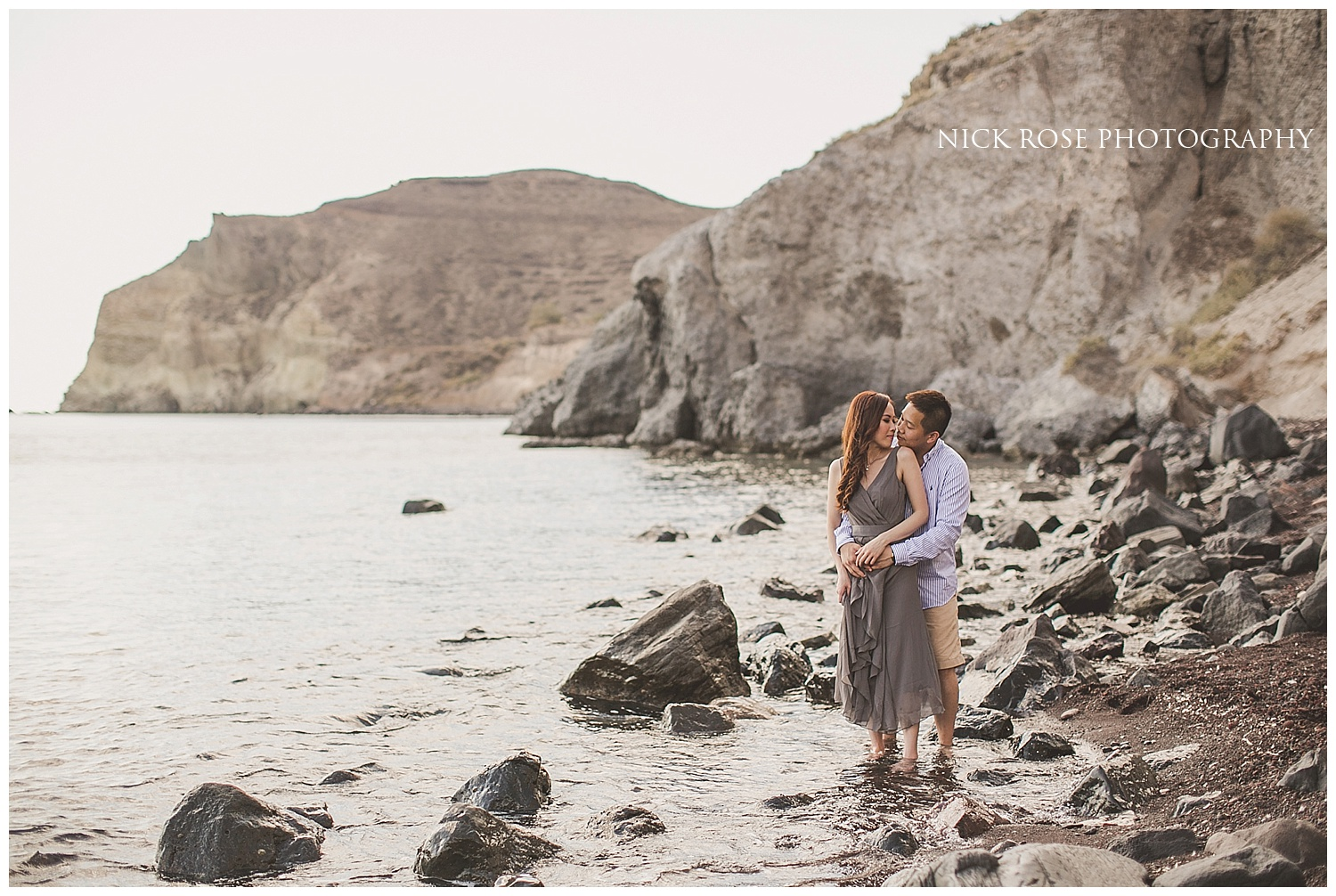 Destination Pre Wedding Photographer Santorini Greece