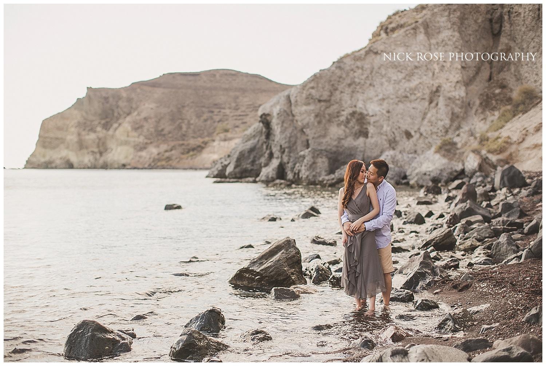 Santorini Pre Wedding Photography in Greece