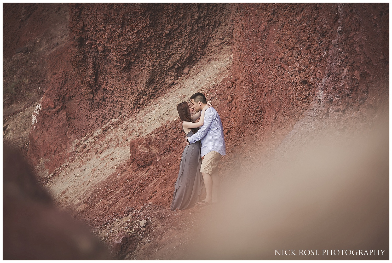 Pre wedding photography Santorini