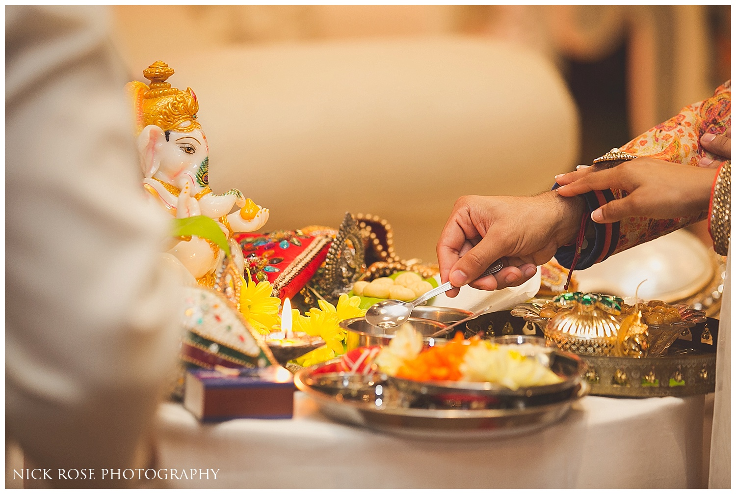Hindi wedding Ceremony Holiday Inn Hertfordshire