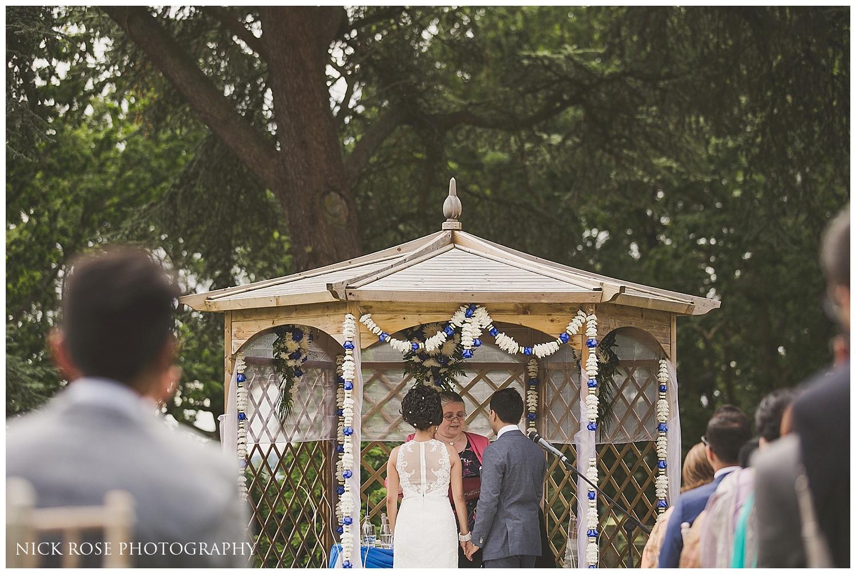 Outdoor Wedding at Laura Ashley Hotel Elstree
