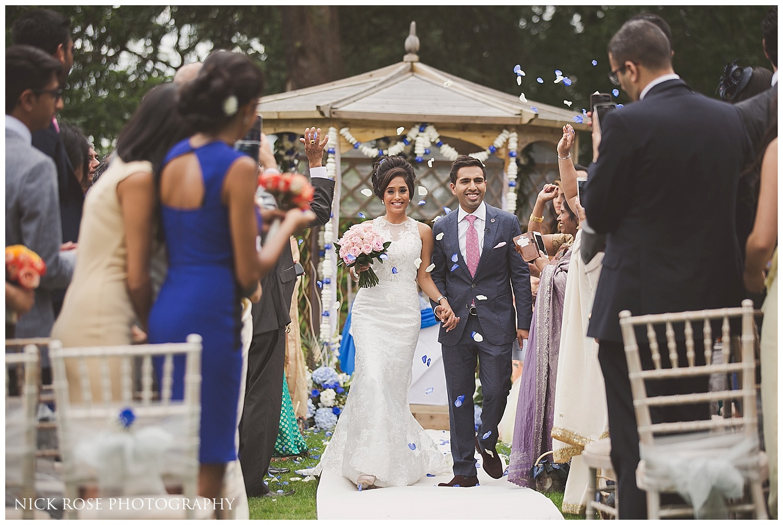 Asian White Wedding Ceremony