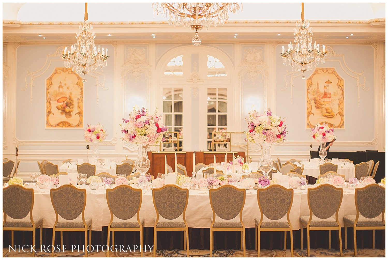 London Wedding Photography Savoy Hotel