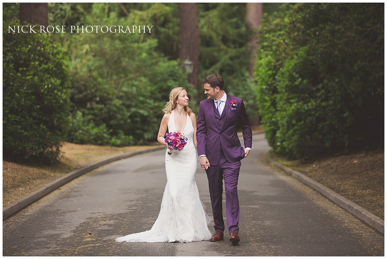 Pennyhill Park Wedding Photographs