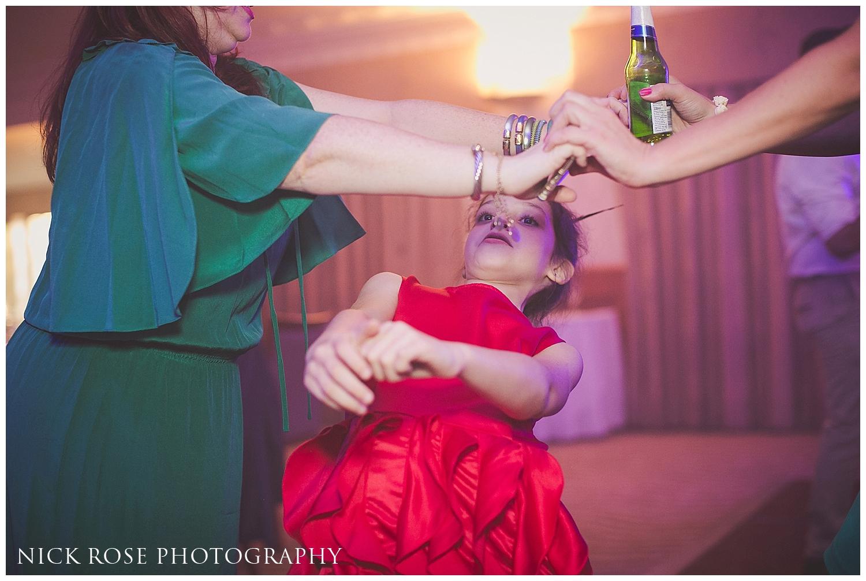 Wedding reception in Bagshot Surrey