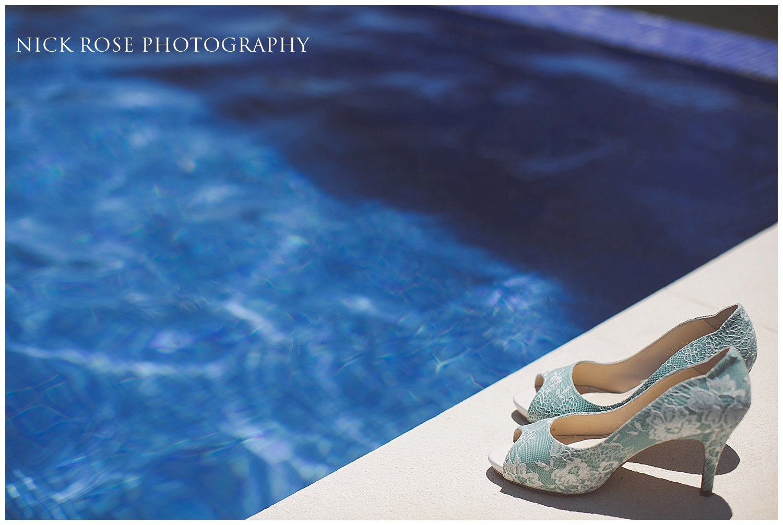 Rachel Simpson Green Wedding Shoes