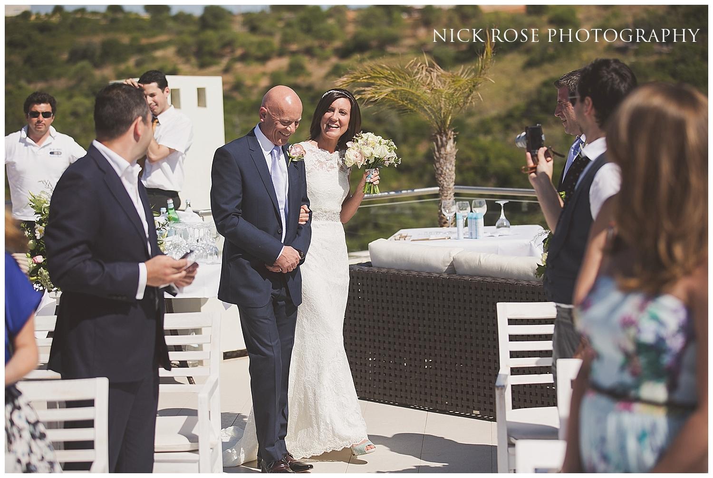 Destination Wedding in Ferragudo Portugal