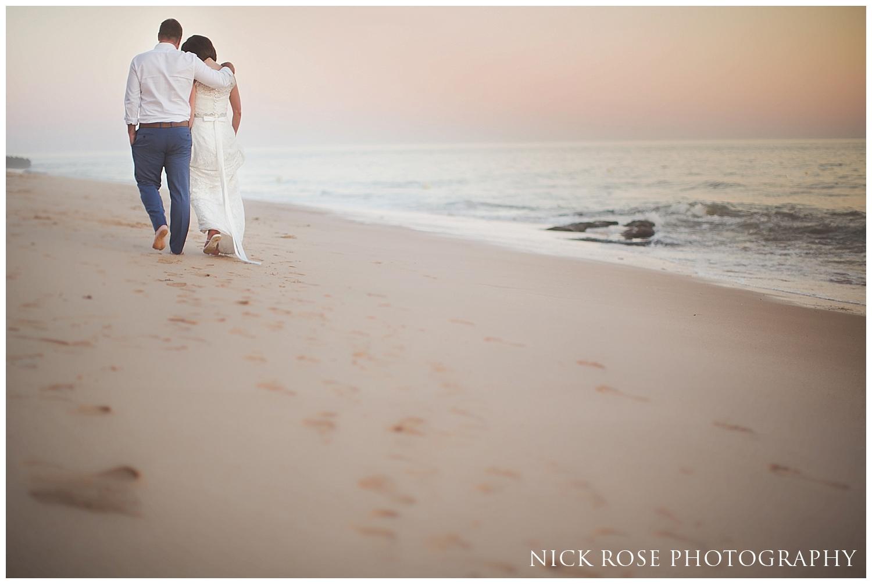 Destination Beach Wedding photography Algarve Portugal