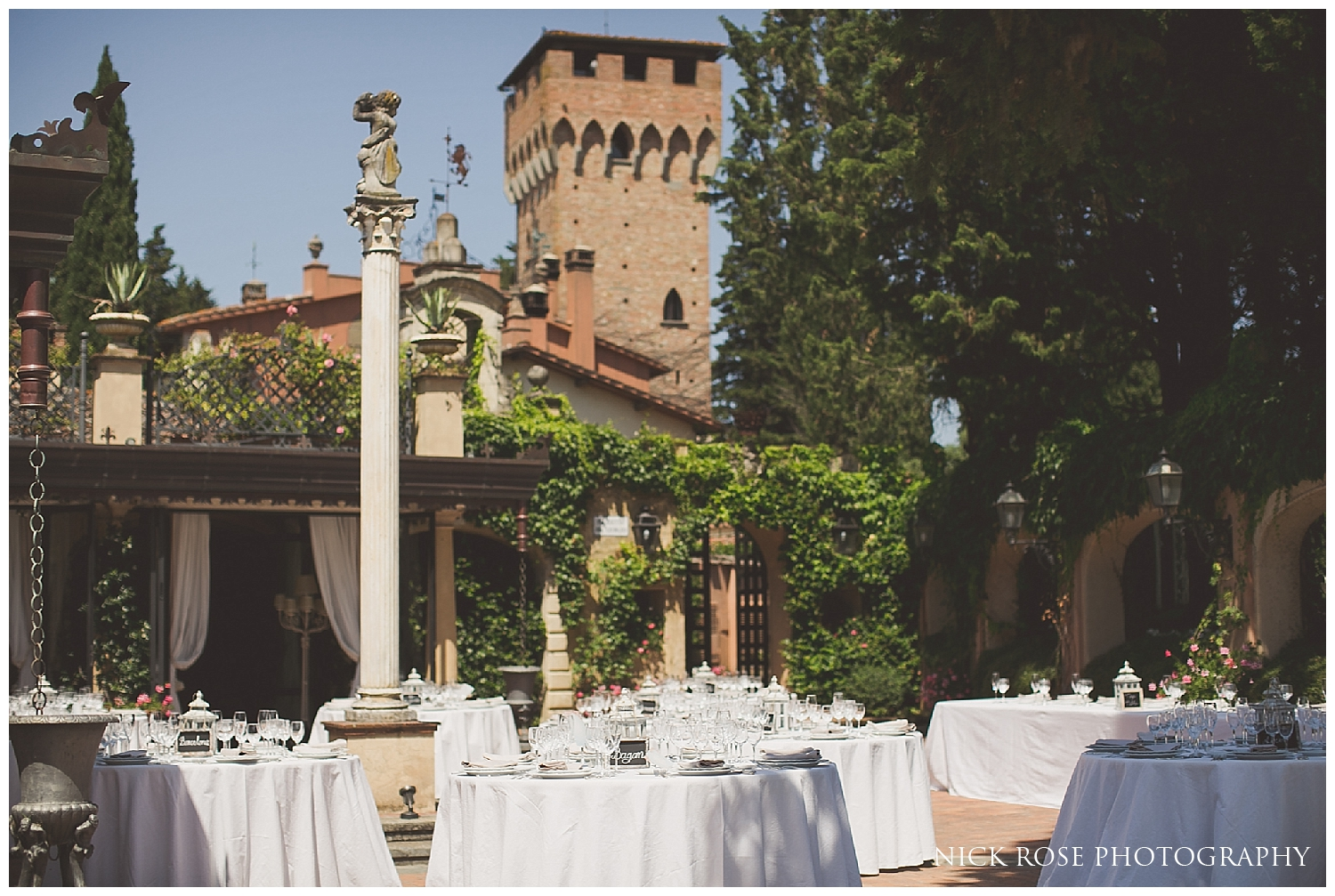 Destination vineyard wedding in Florence Italy