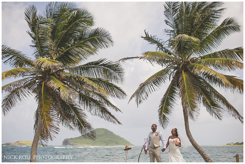 Coconut Bay Beach Wedding Photography St Lucia