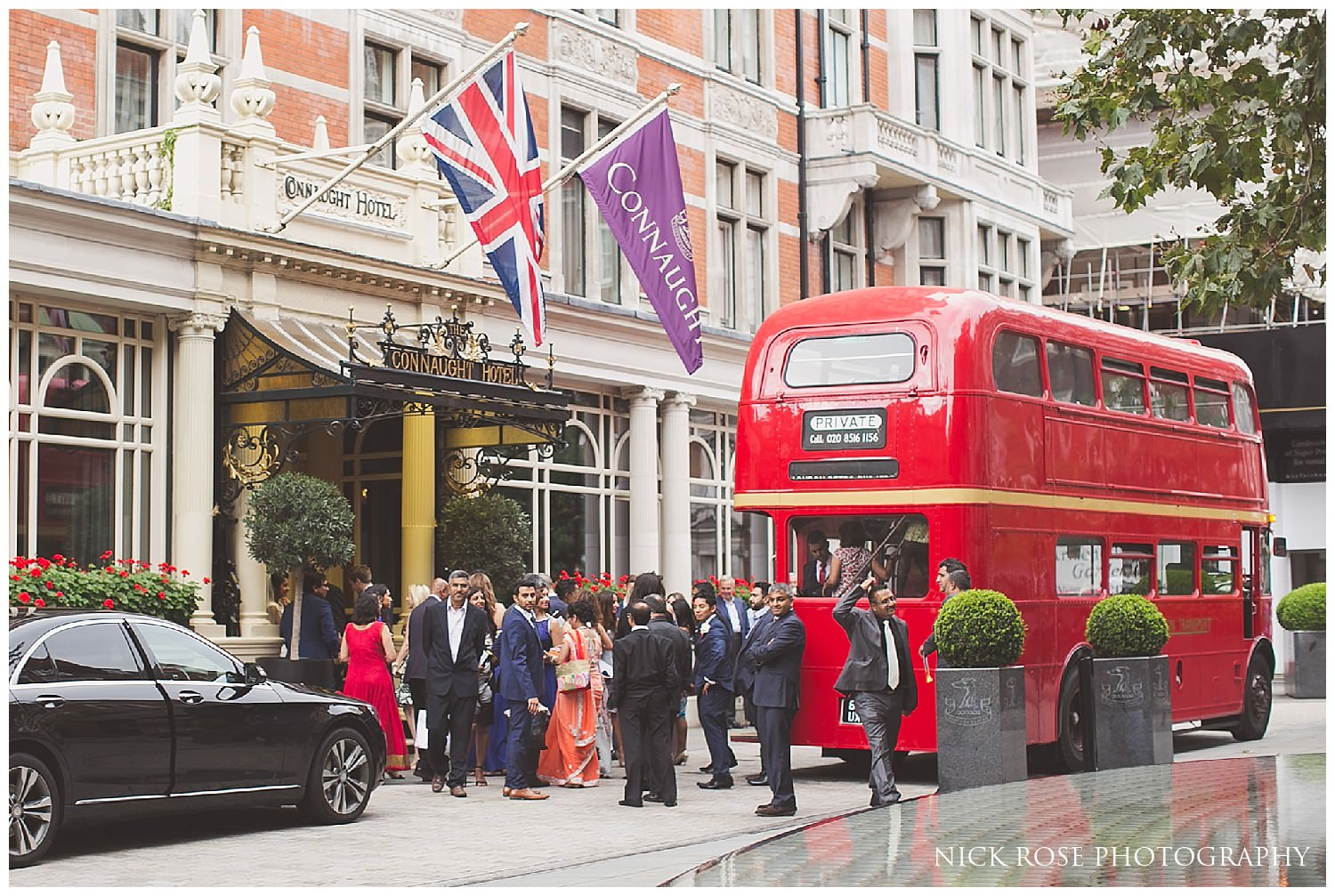 London wedding at the Connaught Mayfair