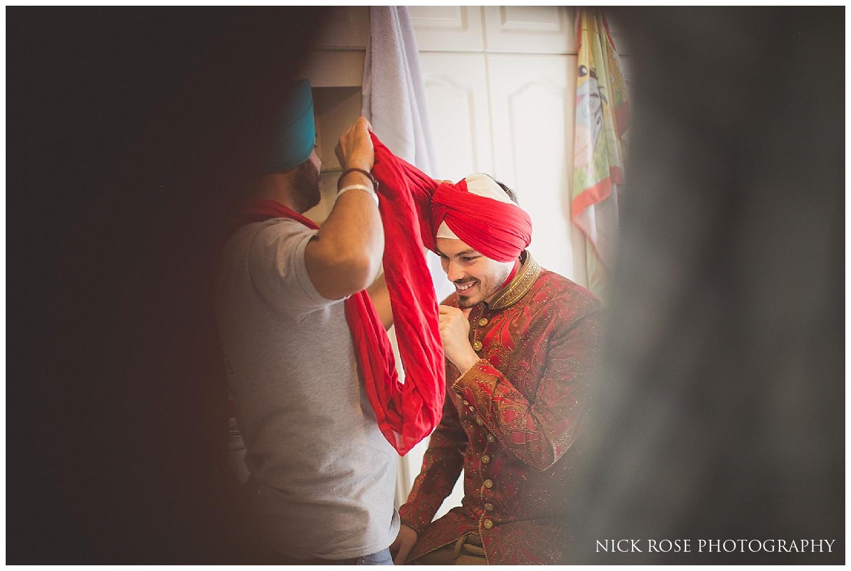 Portuguese Sikh Wedding Photographer London