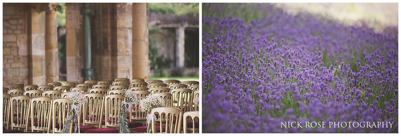 Outdoor wedding at Haver Castle in Kent