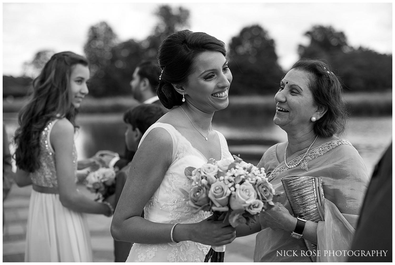Outdoor wedding ceremony in Kent