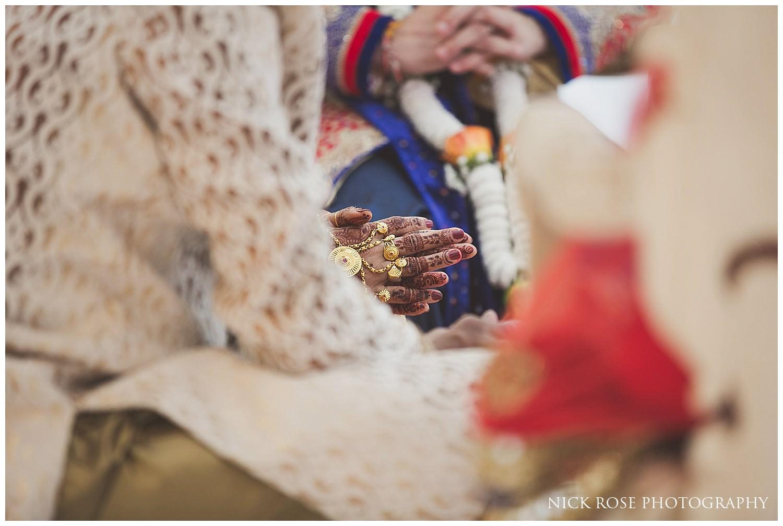 Wedding ceremony at East Wintergarden in London
