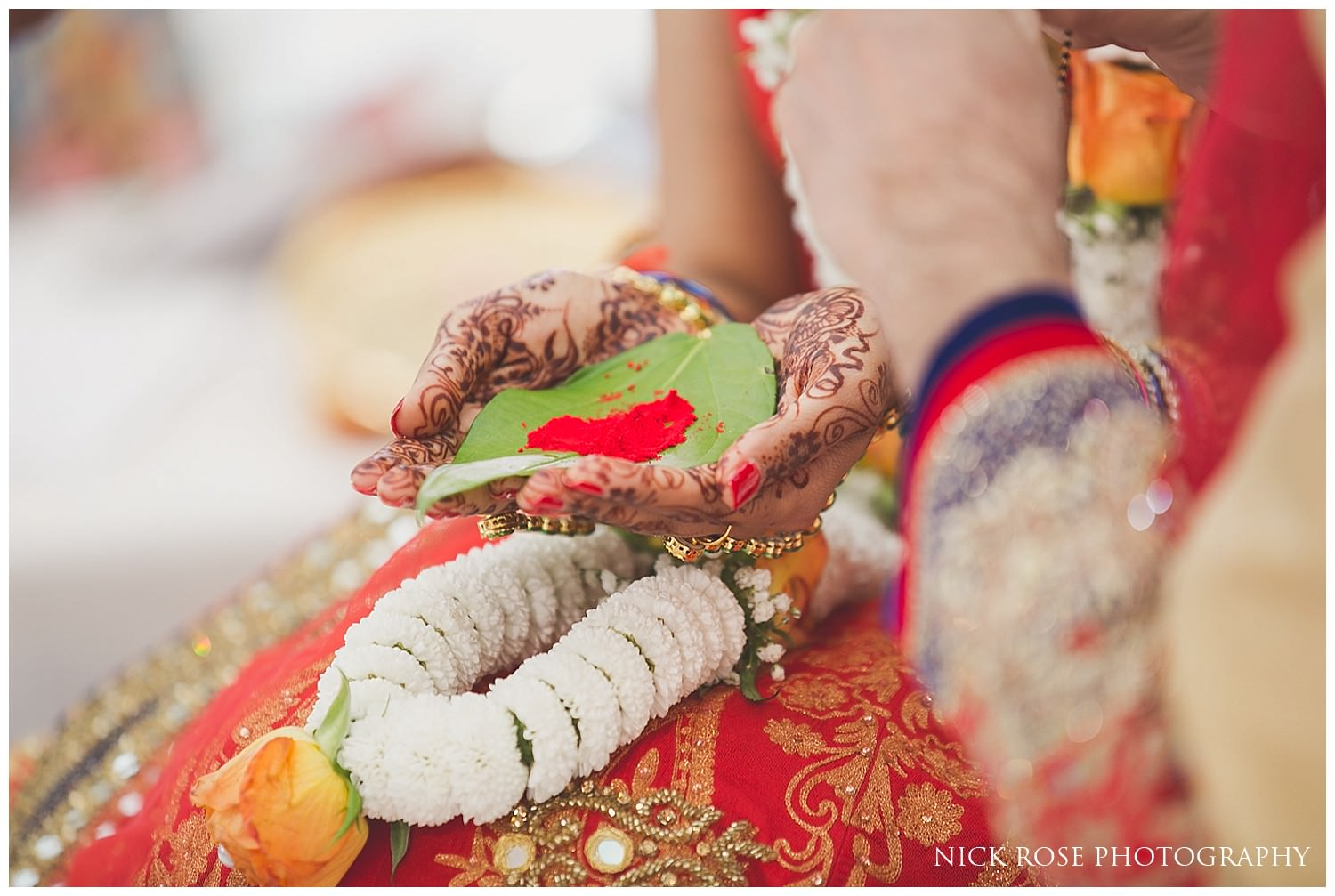 Asian Hindu wedding in the East Wintergarden at Canary Wharf London