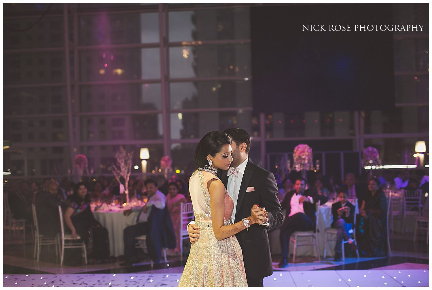 Indian wedding choreographed first dance in London