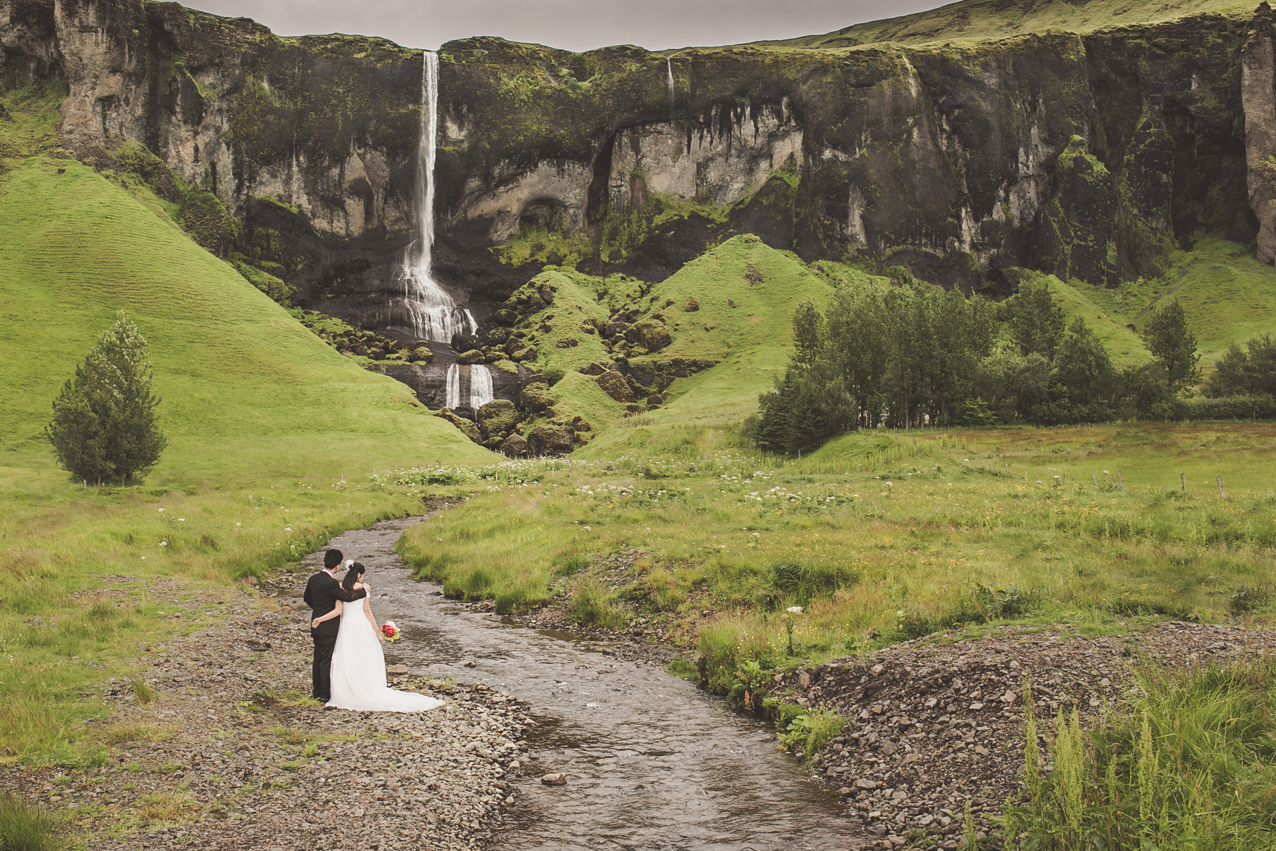 Destination engagement photography in Iceland