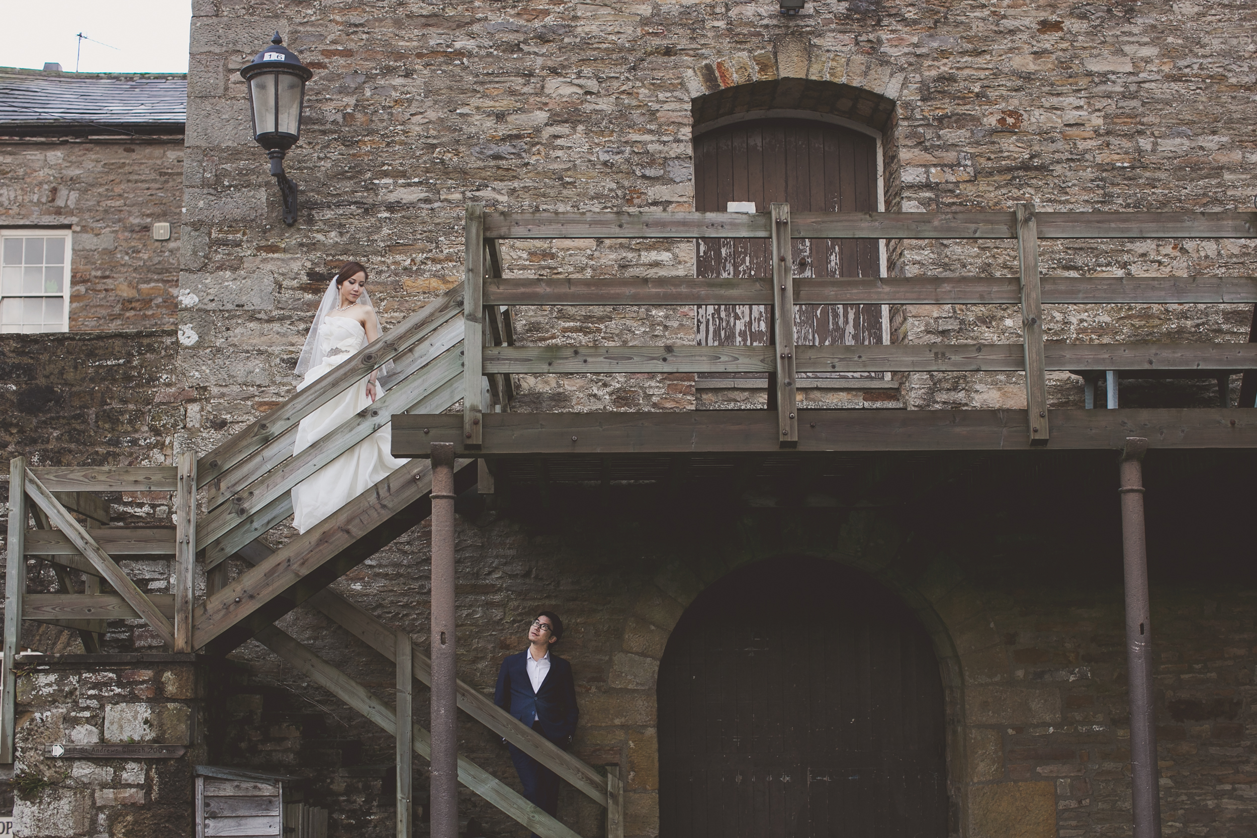 Yorkshire Dales pre wedding photography shoot in England