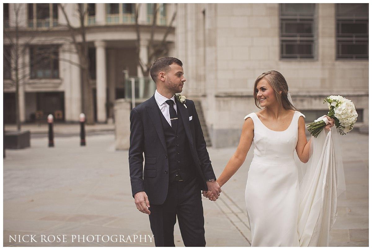 Hawksmoor Guildhall wedding in London