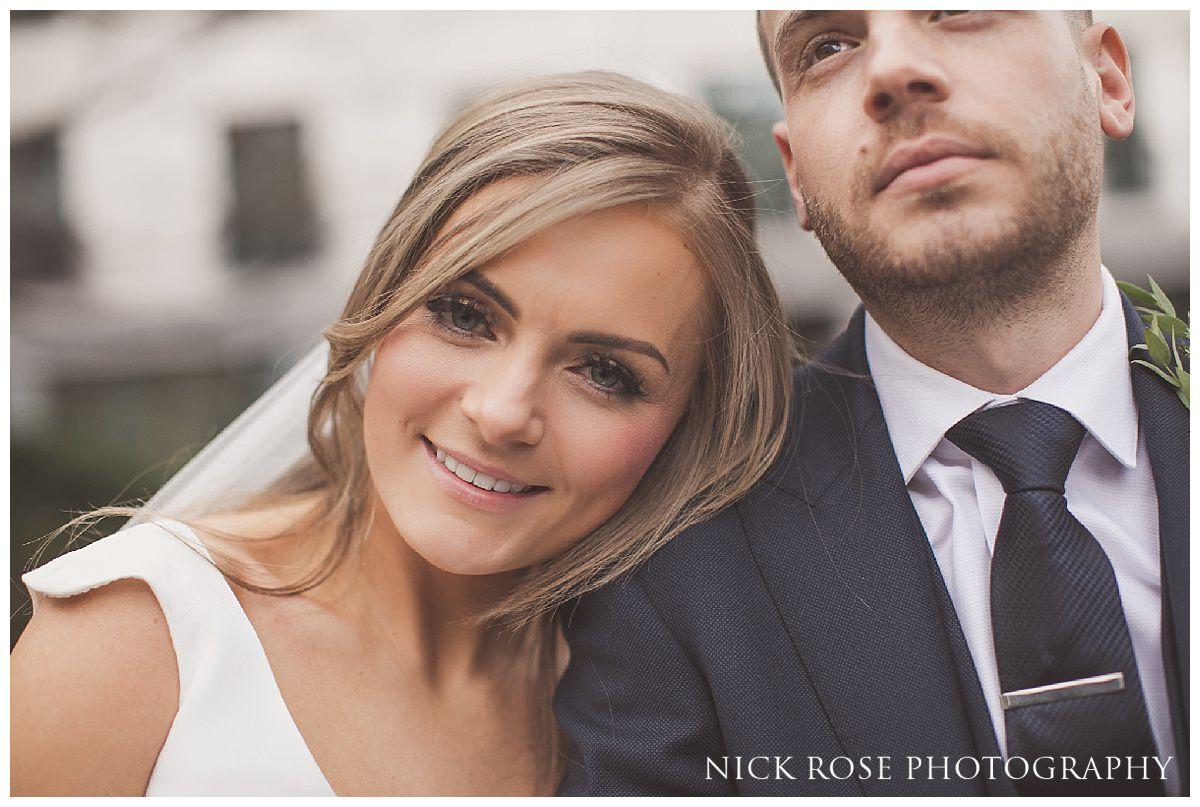 Hawksmoor Guildhall wedding photography in London